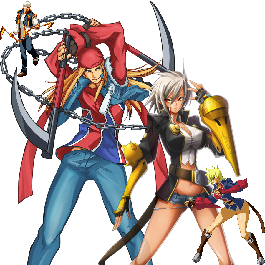 Guilty Gear Wallpaper: Bullet BlazBlue Wallpapers