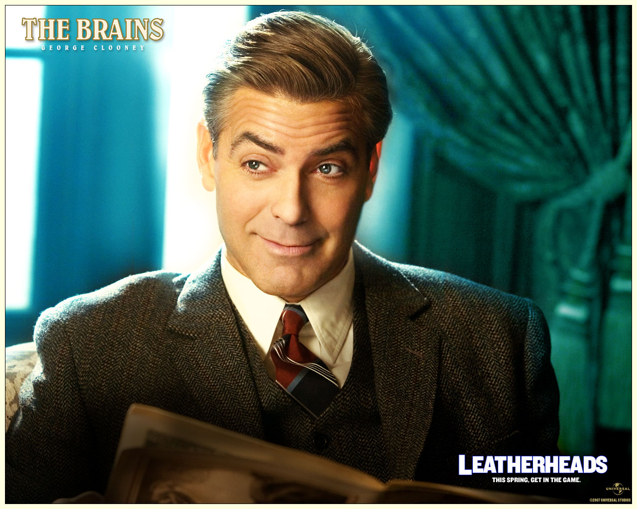 Leatherheads   George Clooney Wallpaper 532503 1280x1024