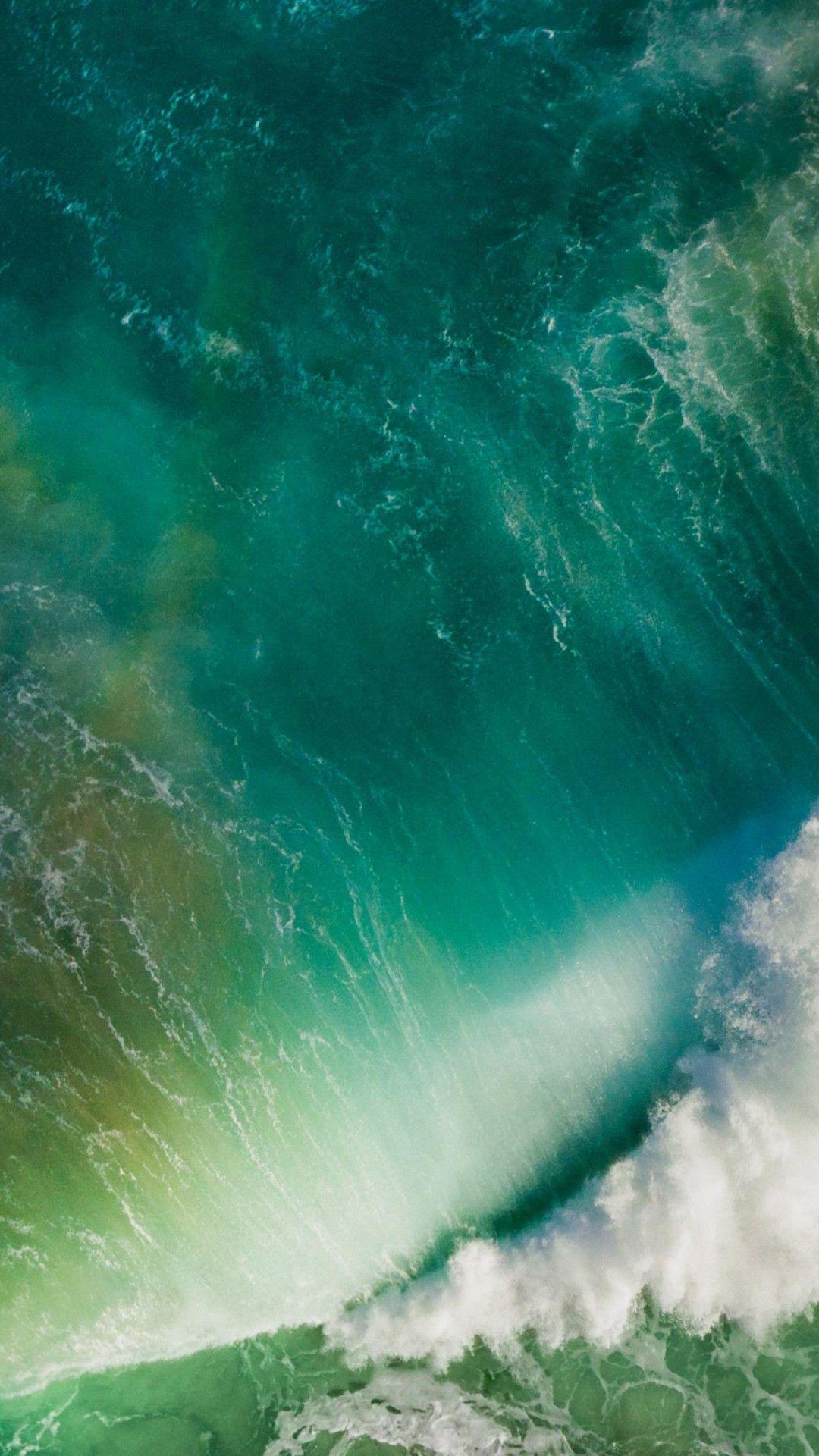 iOS 10 Splashing Wave Default iPhone 6 HD Wallpaper wallpapers 1080x1920