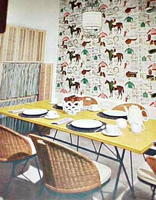 Retro Rooms The 1950s Kitchen 500x641