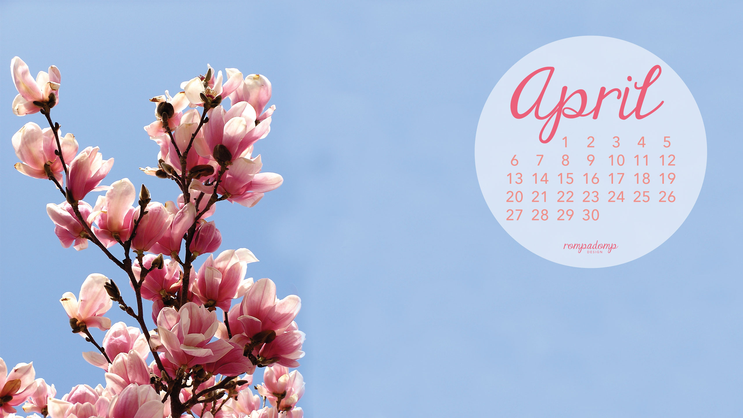 april desktop calendar wallpaper 2560 x 1440jpg 2560x1440