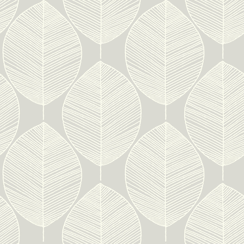 Arthouse Retro Leaf Wallpaper   Silver Go Wallpaper 800x800