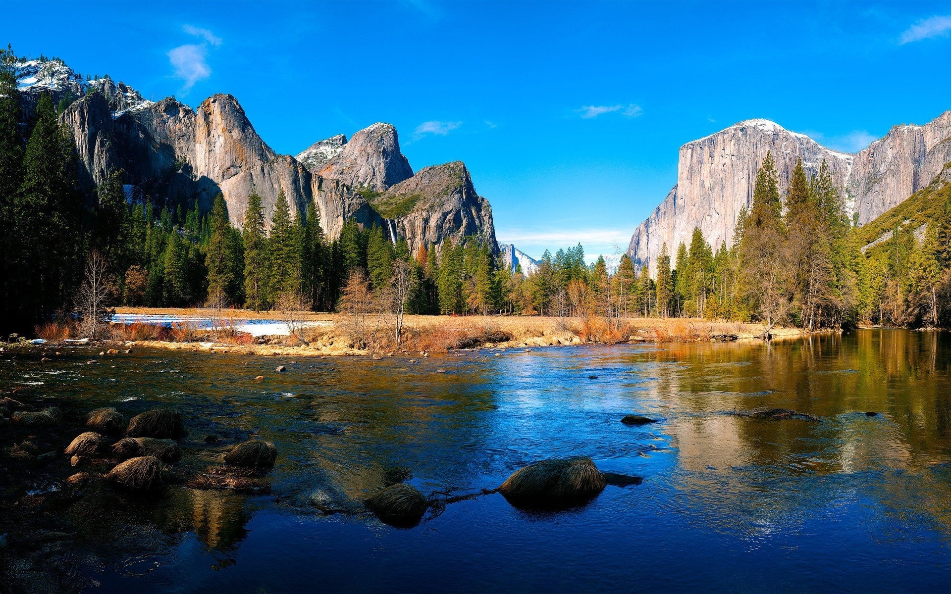 Yosemite Valley Wallpaper 4673 1920x1200
