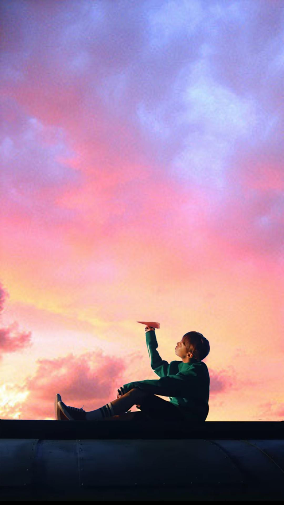 jin wallpaper Tumblr Bts lockscreen Fondo de pantalla bts wings 1080x1920
