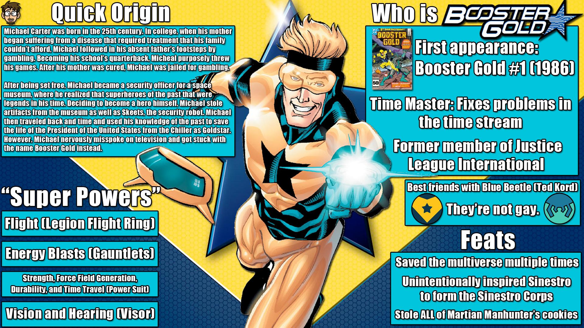 Booster Gold Wallpaper 17   1920 X 1080 stmednet 1920x1080