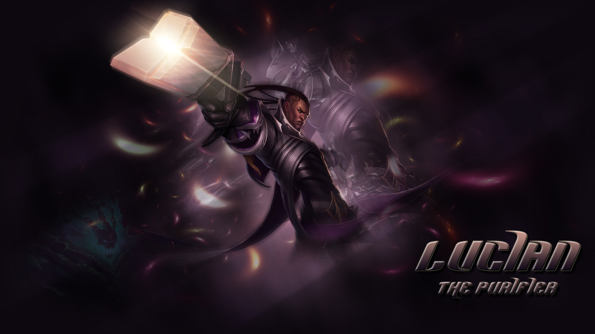 Lucian   LoL Wallpapers HD Wallpapers Artworks for League of 1920x1080