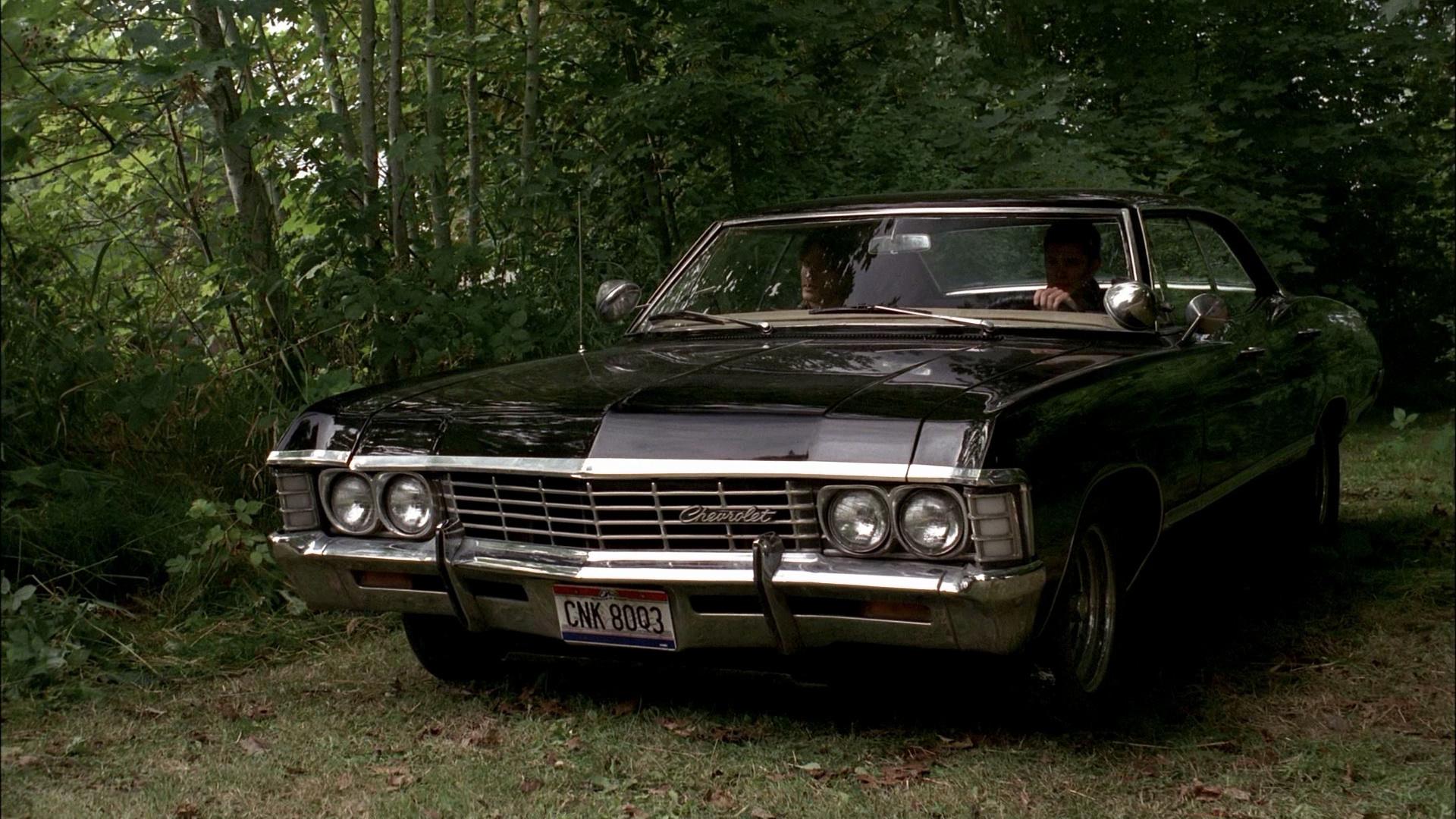 Supernatural car chevrolet impala green supernatural tree tv 1920x1080
