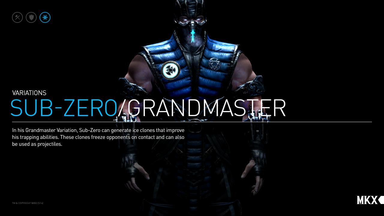 Sub Zero Grand Master Variation 1280x720