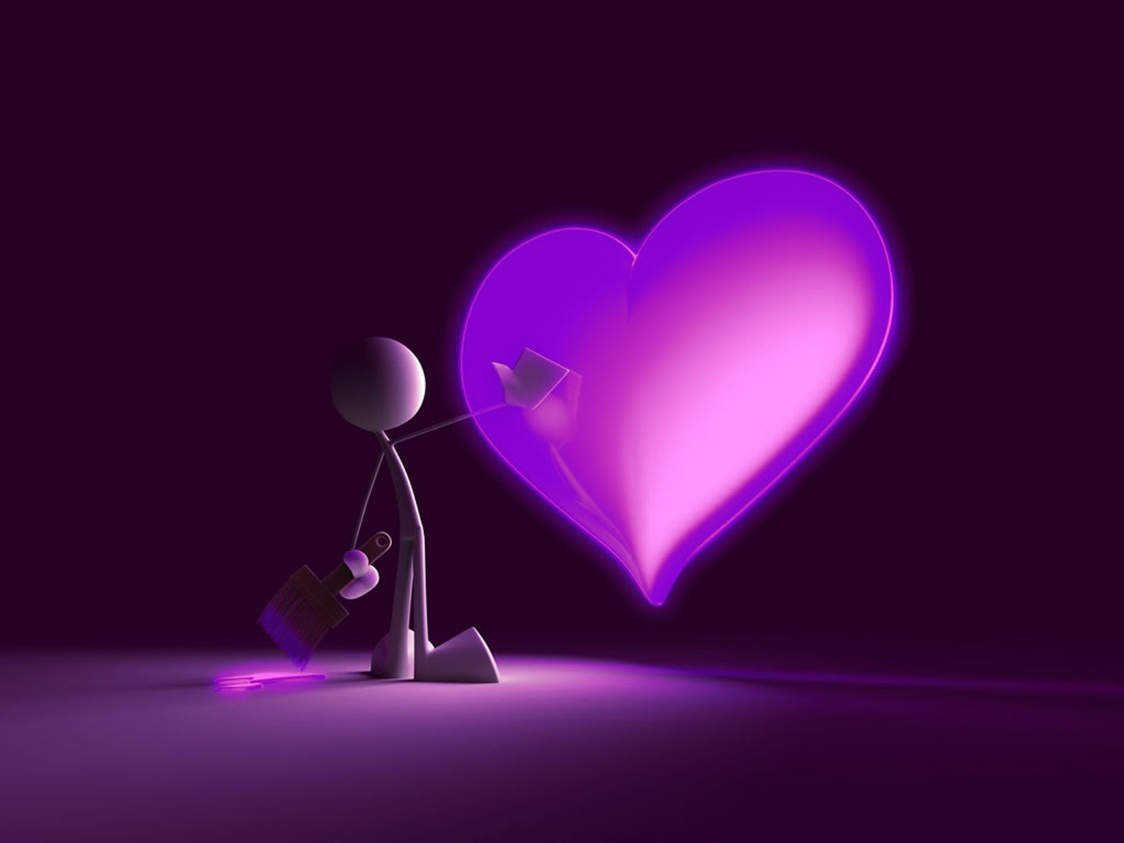 1124x843 Animated Love Wallpapers For Mobile