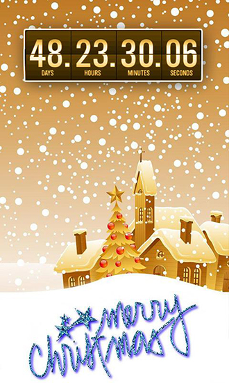 Christmas Countdown live wallpaper for Android Christmas Countdown 330x550