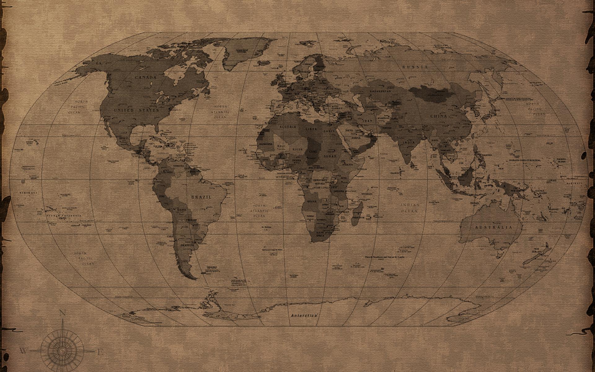 World Map Desktop Wallpaper Download Cool Maps   World Map Database 1920x1200