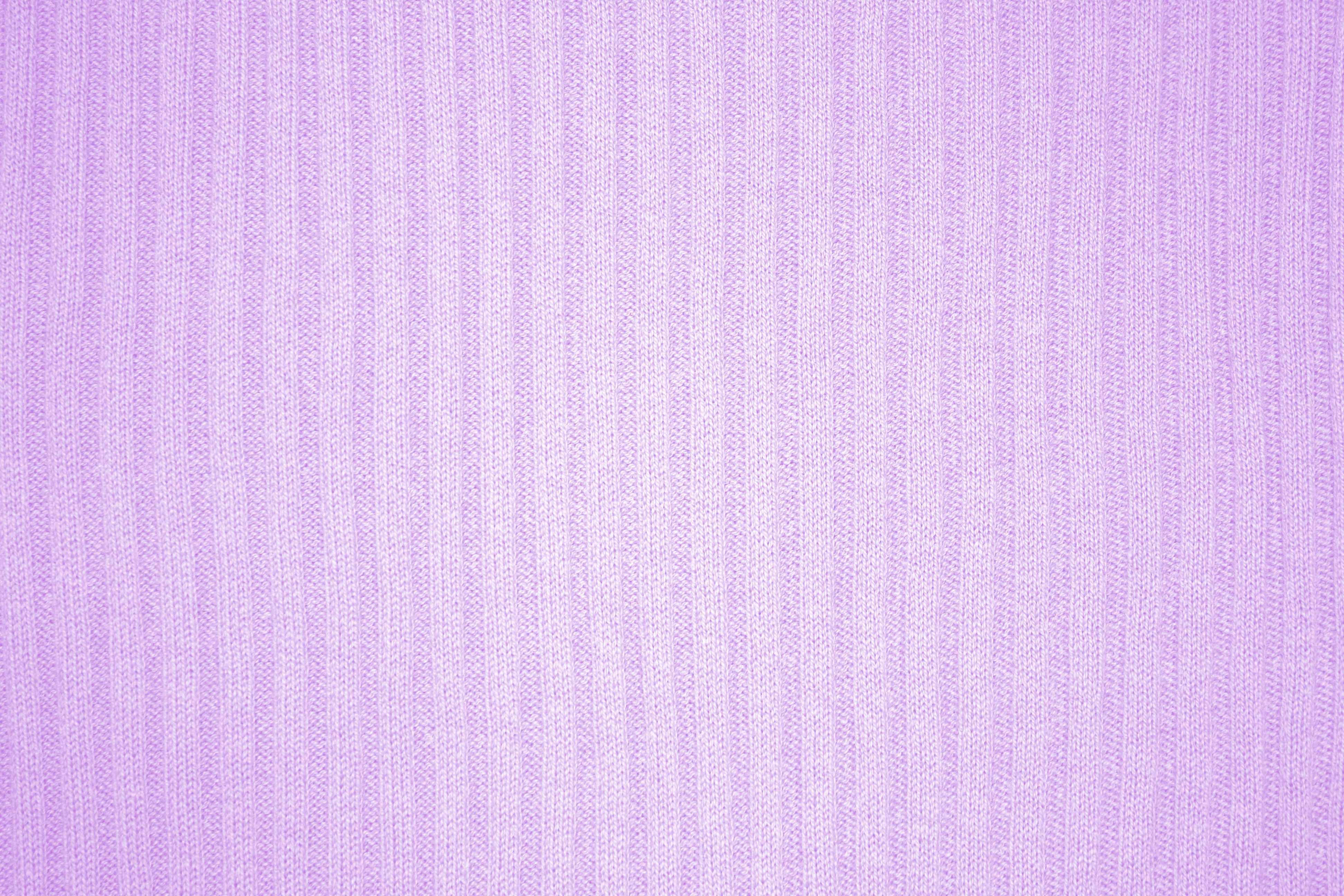 Lavender Ribbed Knit Fabric Texture Picture Photograph Photos 3888x2592