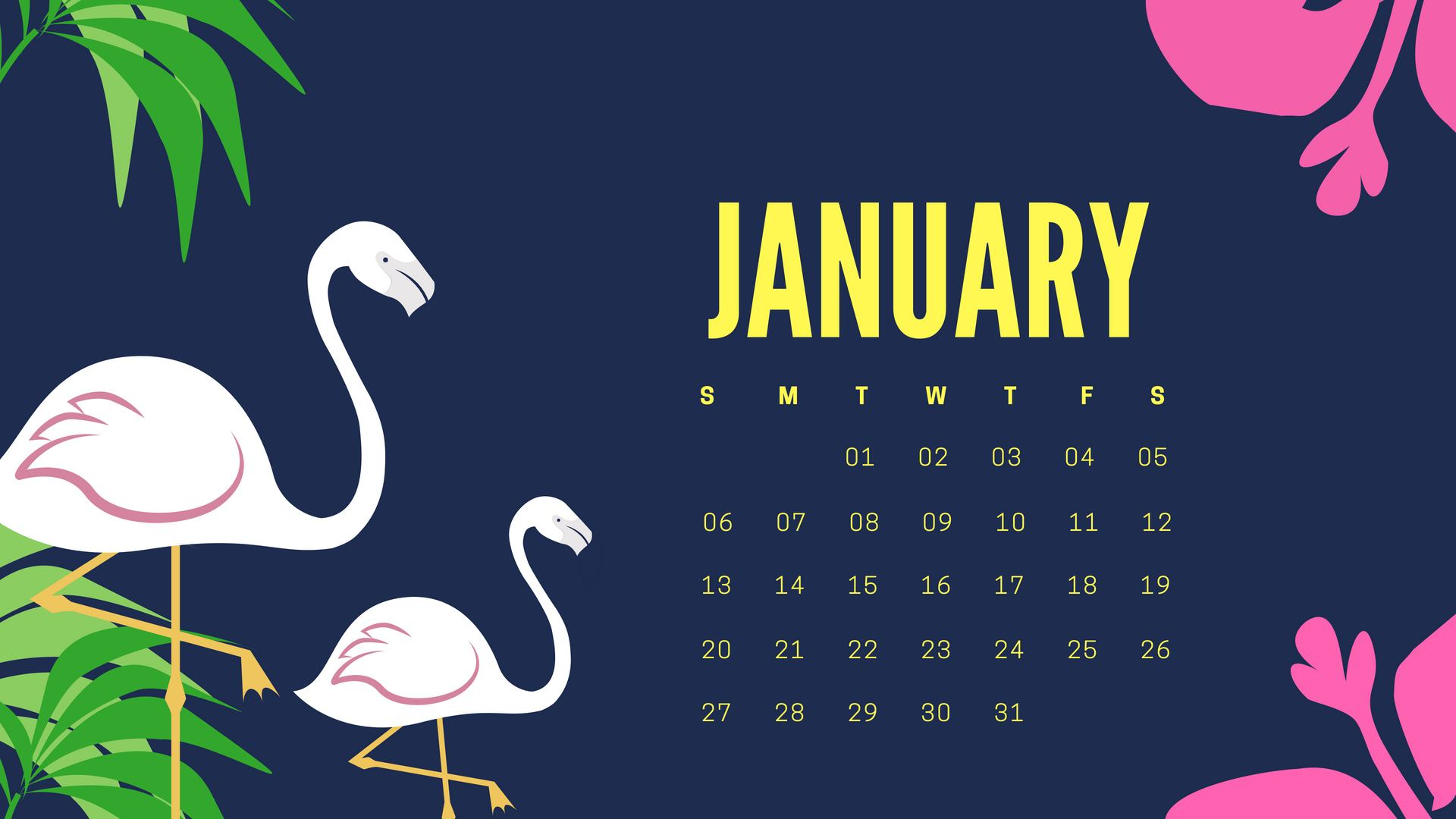 2019 Calendar HD Wallpapers Download CalendarBuzz 1920x1080