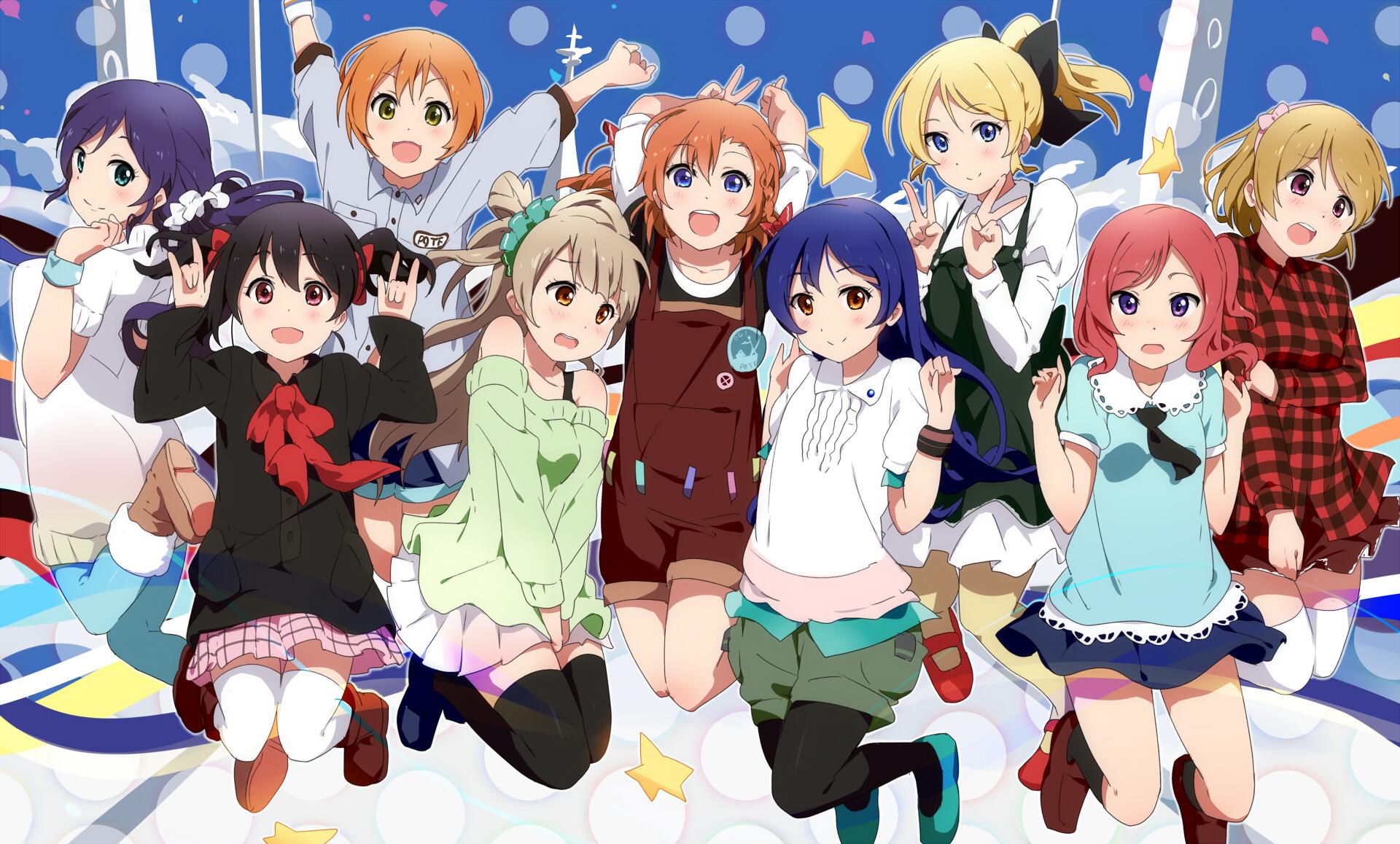 Love Live School Idol Project Wallpaper - WallpaperSafari