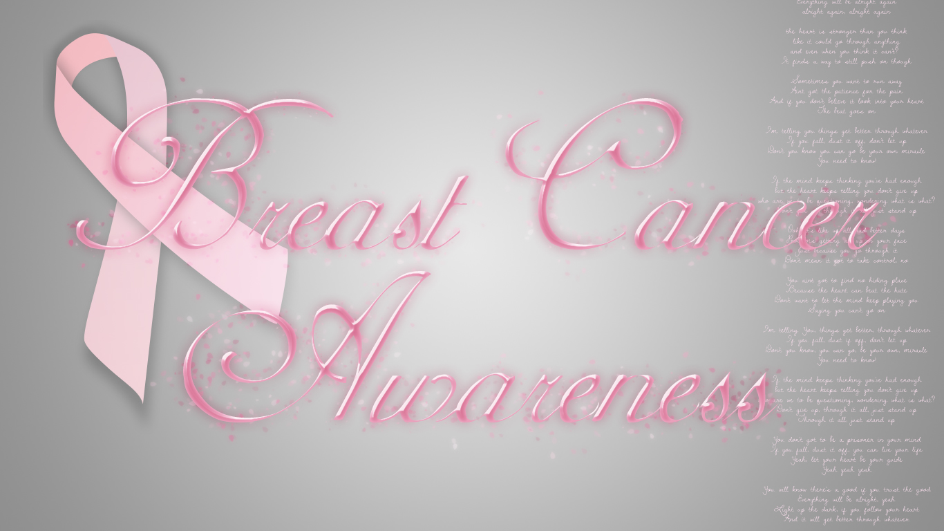 Breast Cancer Awareness Wallpapers Desktop 1366x768