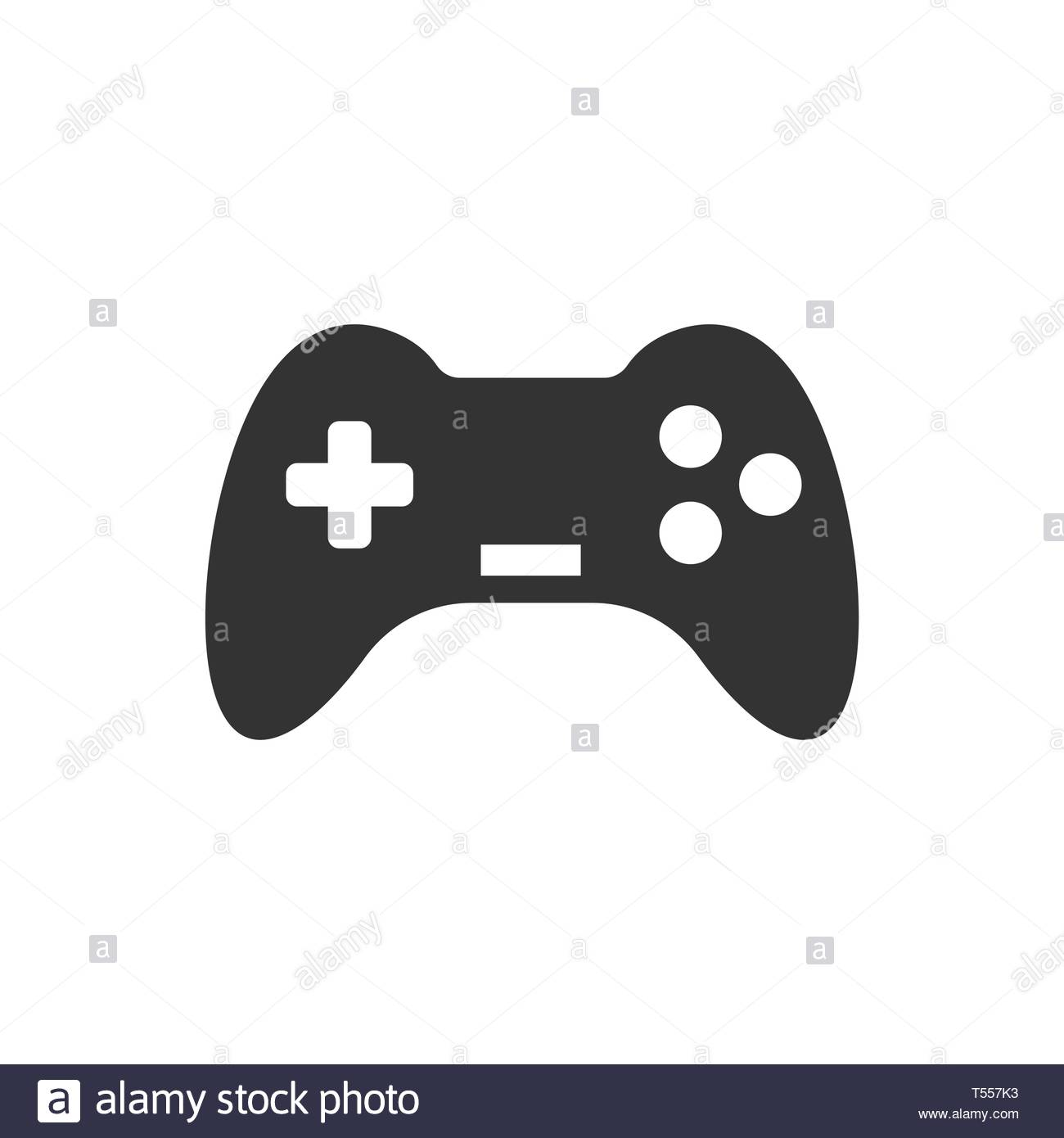 Joystick sign icon in flat style Gamepad vector illustration on 1300x1390