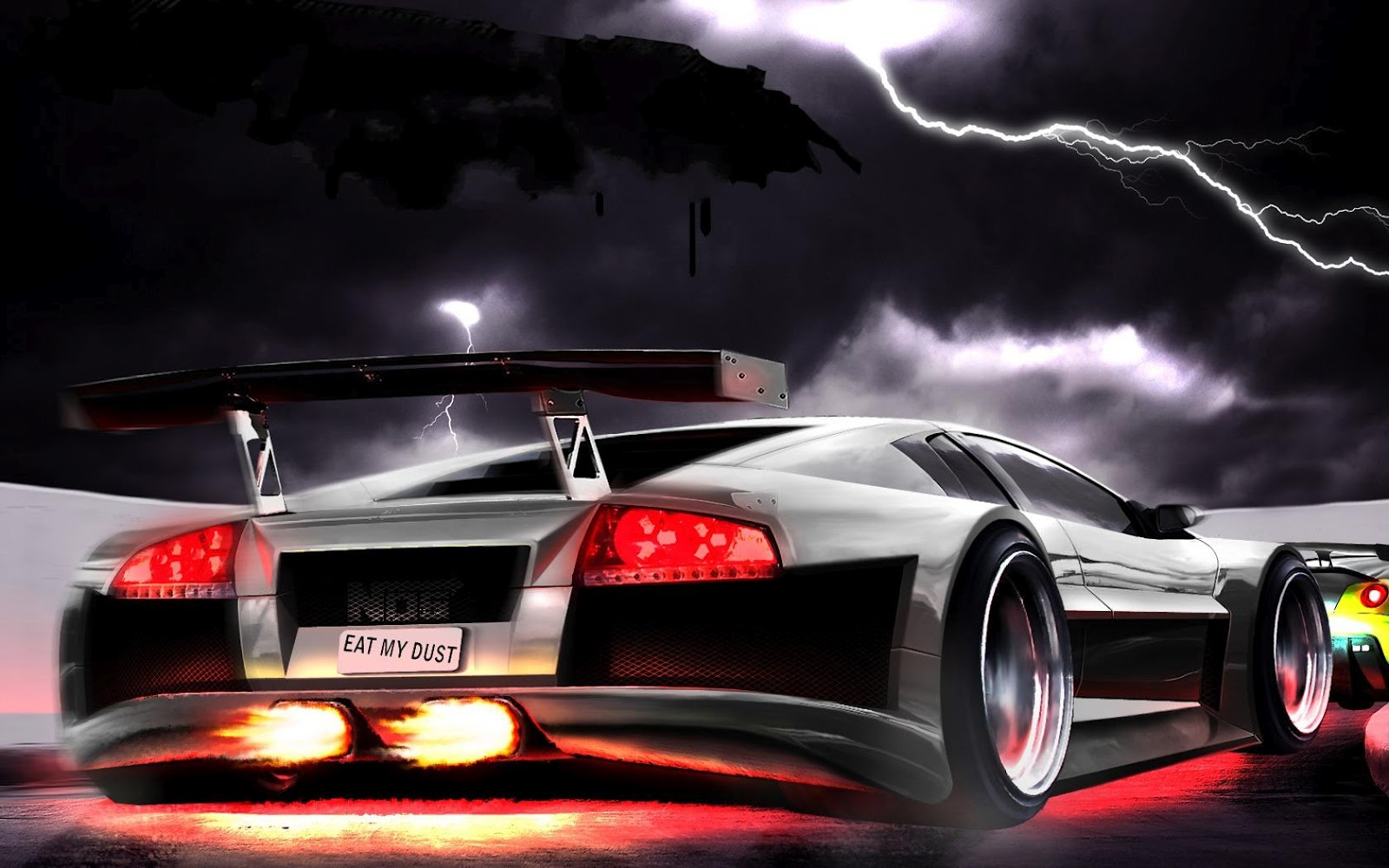 Image Cool 3d Car Wallpaper Lamborghini Download 1600x1000