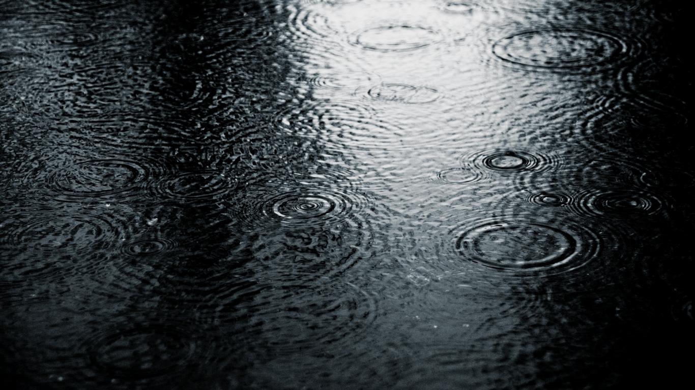 bestofluau raining wallpapers hd 1366x768