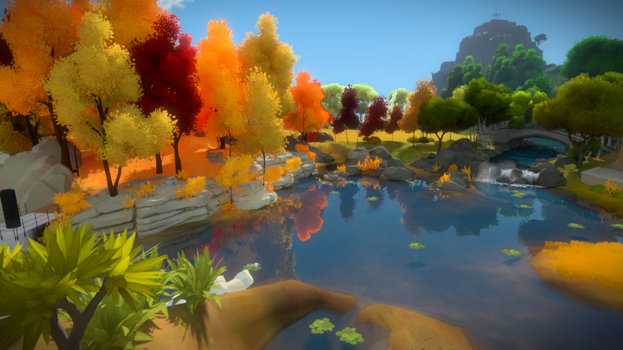 More Screenshots The Witness 1280x720