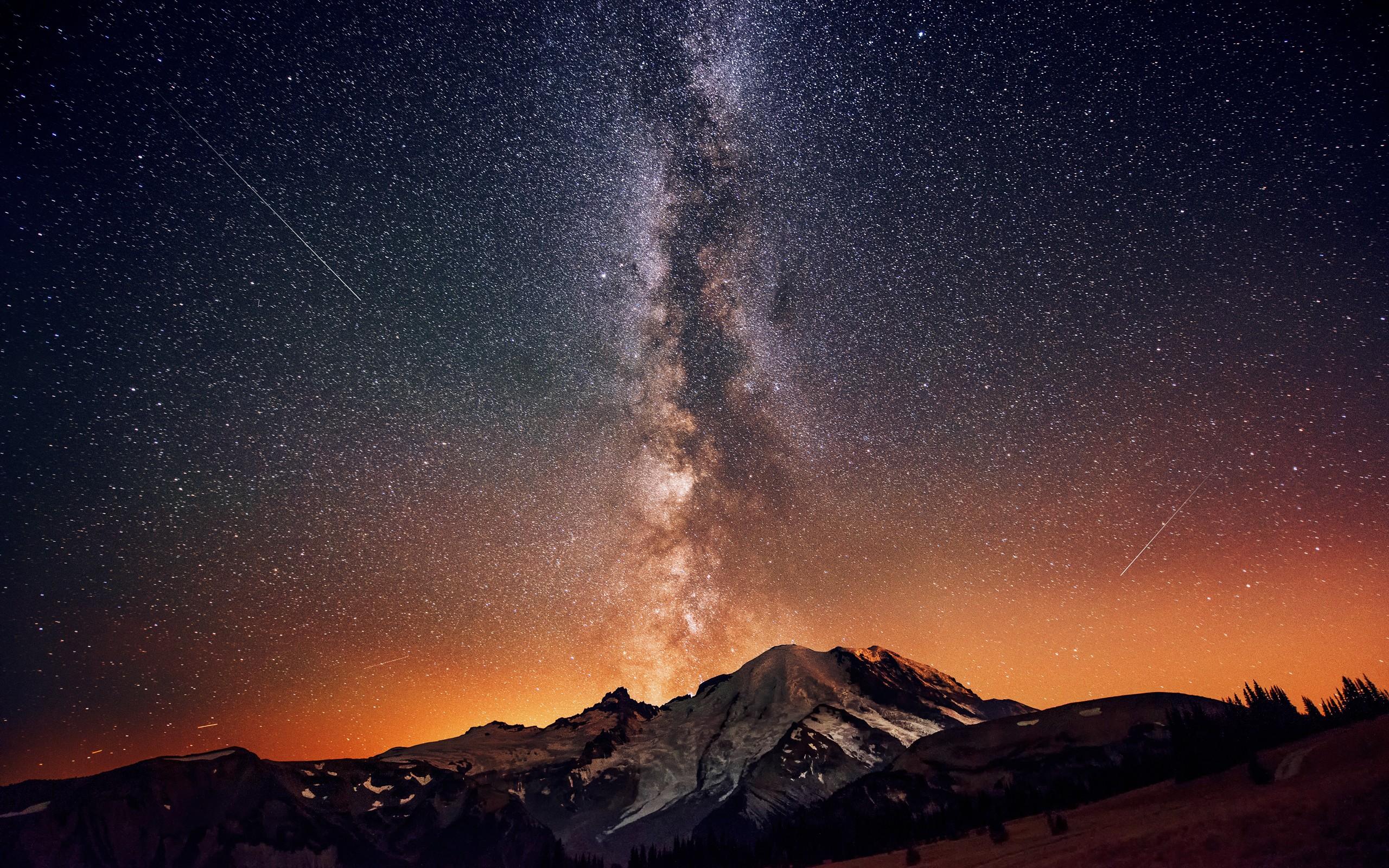 Daily Wallpaper Mount Rainier Washington I Like To Waste My Time 2560x1600