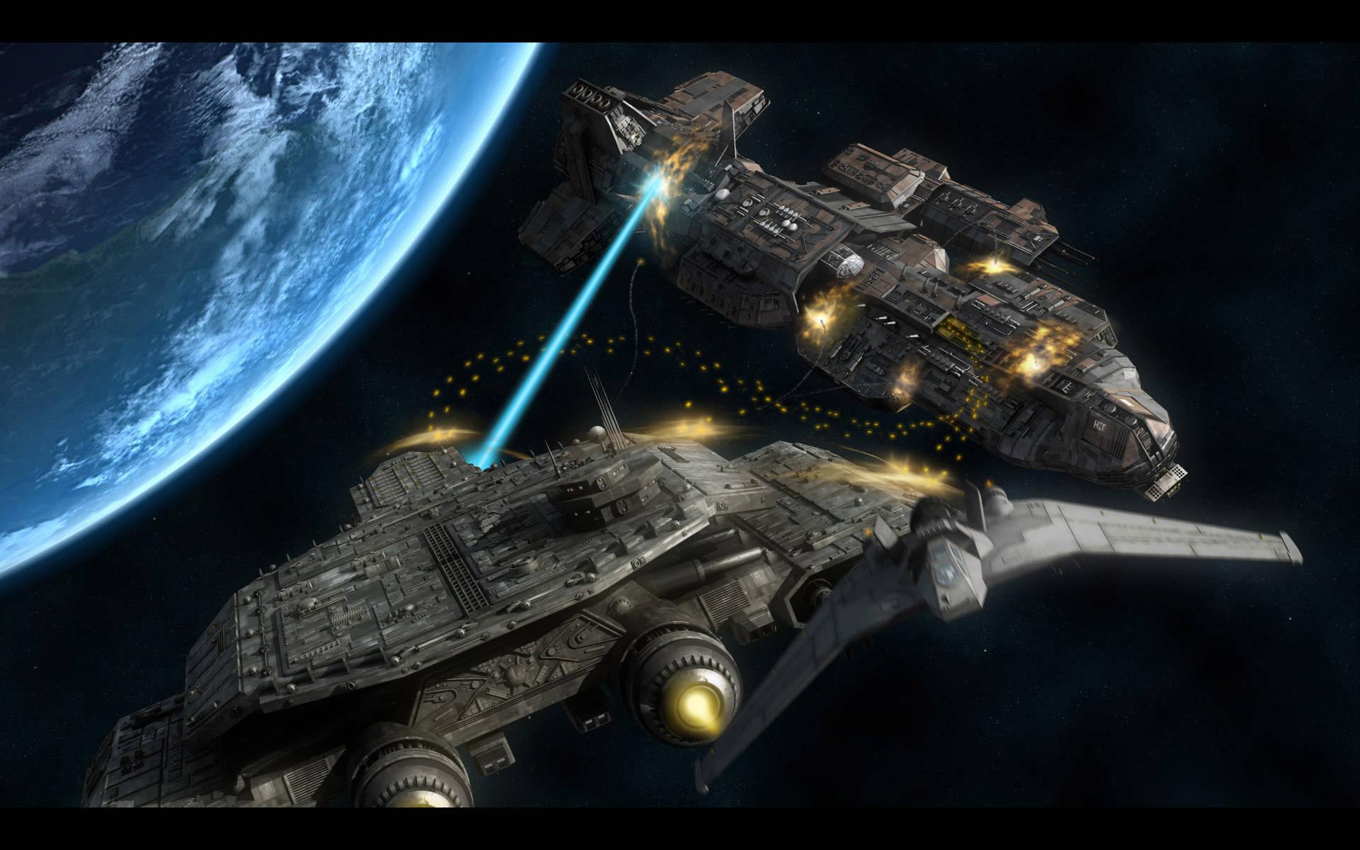 stargate sg 1 spaceships 1920x1200