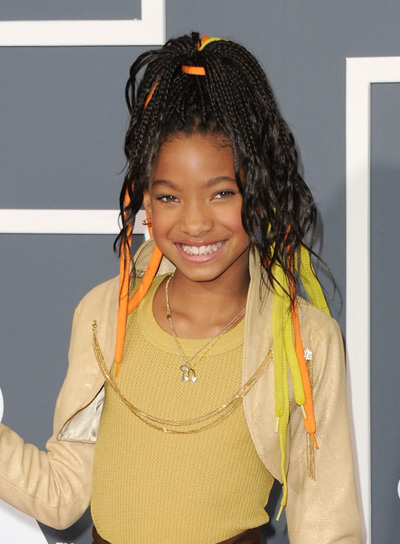 Willow Smith Hairstyles   Wallpaper 2 of 3 400x544