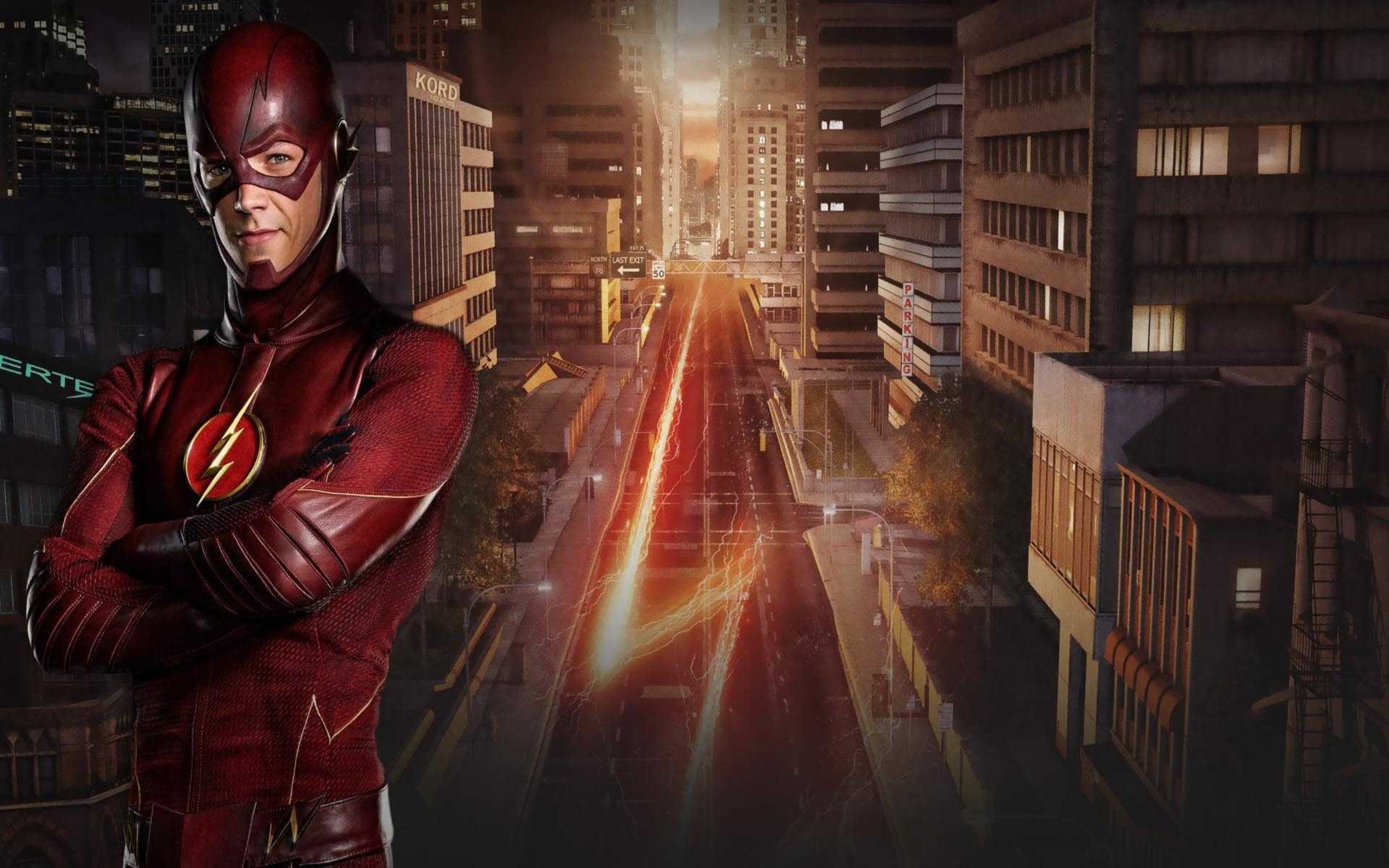 The Flash TV Series Wallpaper HDwallpaperUP 2560x1600