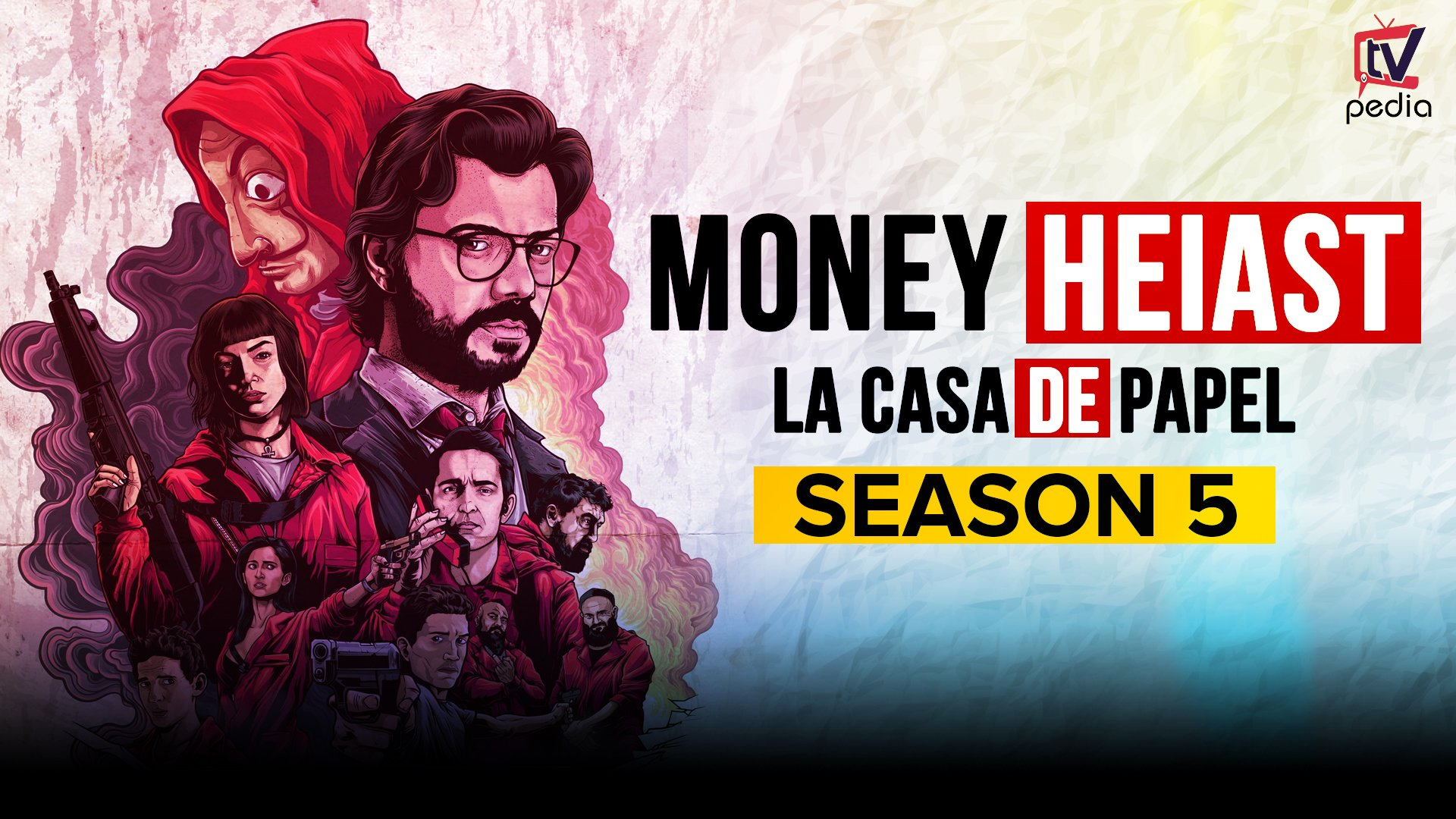 Money Heist Season 5 Release Date and Other Detail  Daily Research 1920x1080