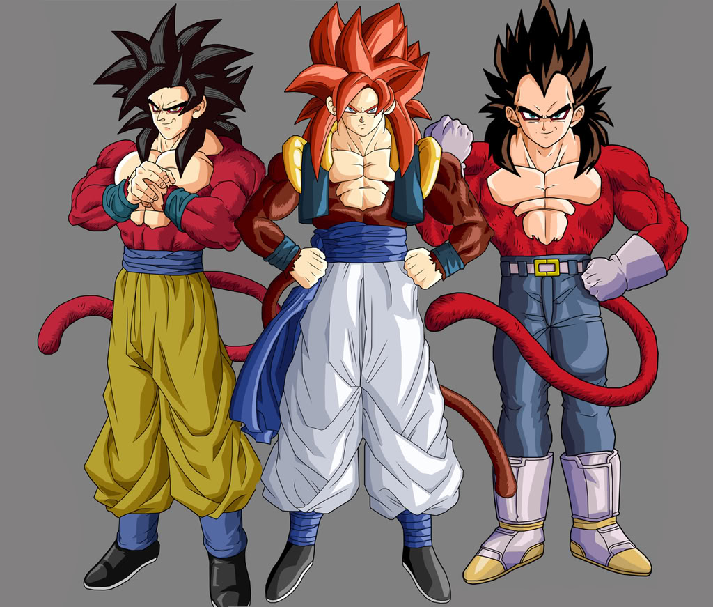 Goku And Vegeta Super Saiyan 4 Galleryhipcom The 1024x871