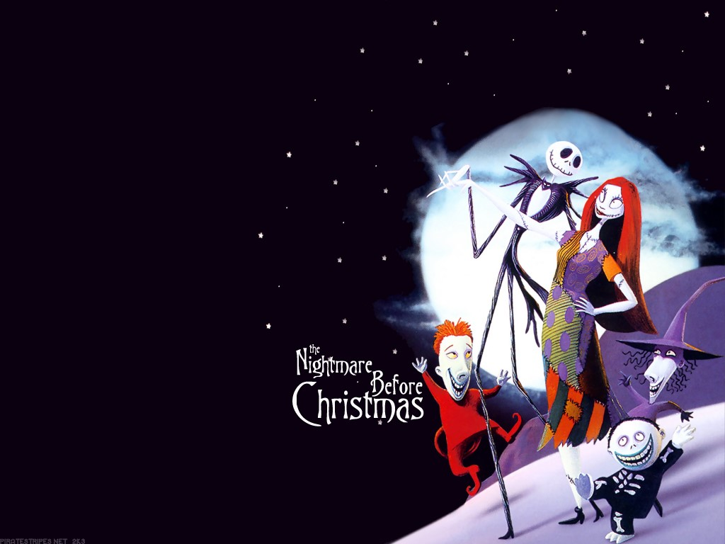 the nightmare before christmas wallpaper hd 1024x768