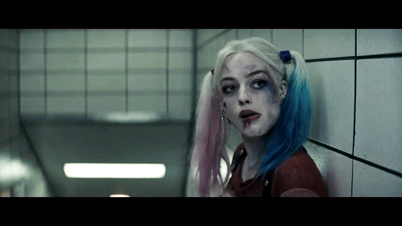 Harley Quinn images Margot Robbie as Harley Quinn in the First Trailer 1280x720