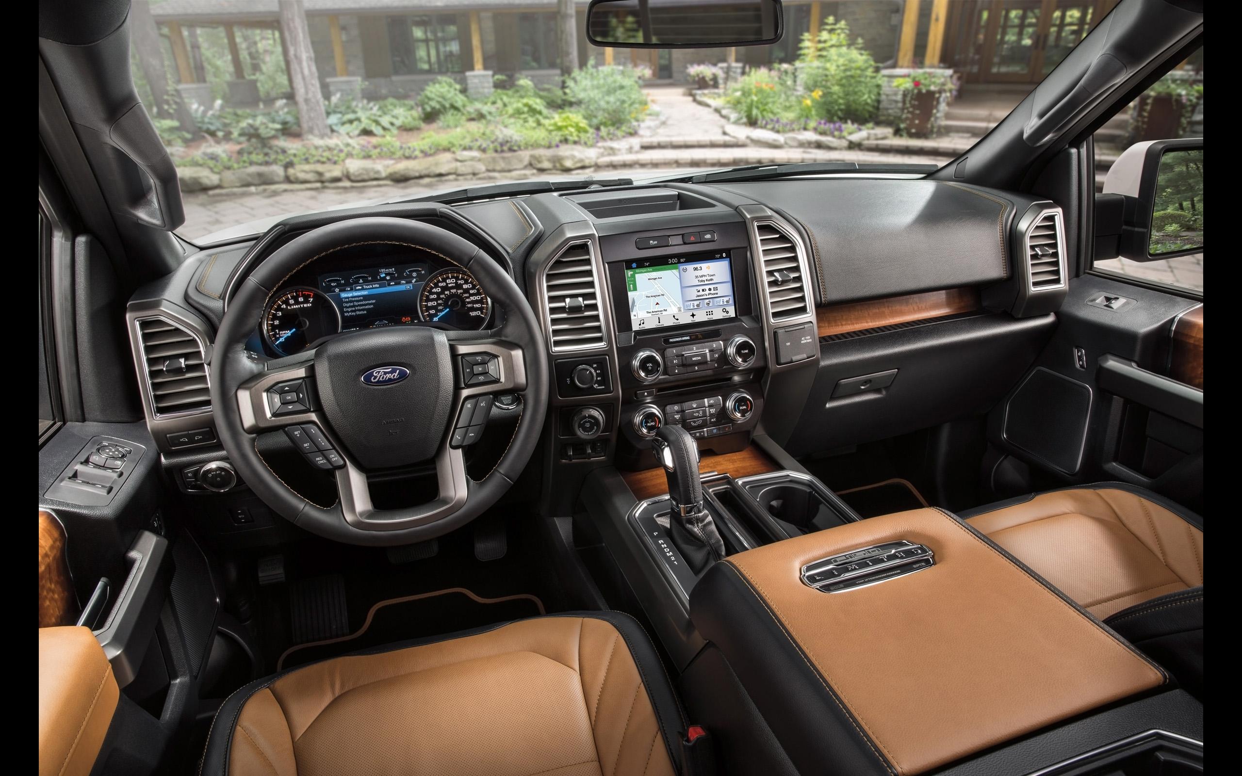 2016 Ford F 150 Limited   Interior   1   2560x1600   Wallpaper 2560x1600