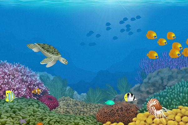 Wallpaper Living Beaches Animated Wallpaper 600x400