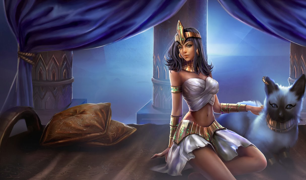 Nidalee League of Legends Wallpaper Nidalee Desktop Wallpaper 1215x717