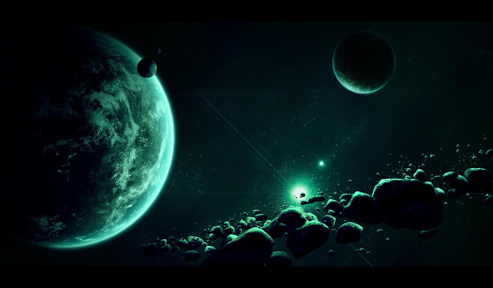 Dark Space Wallpaper: Dark Space Background