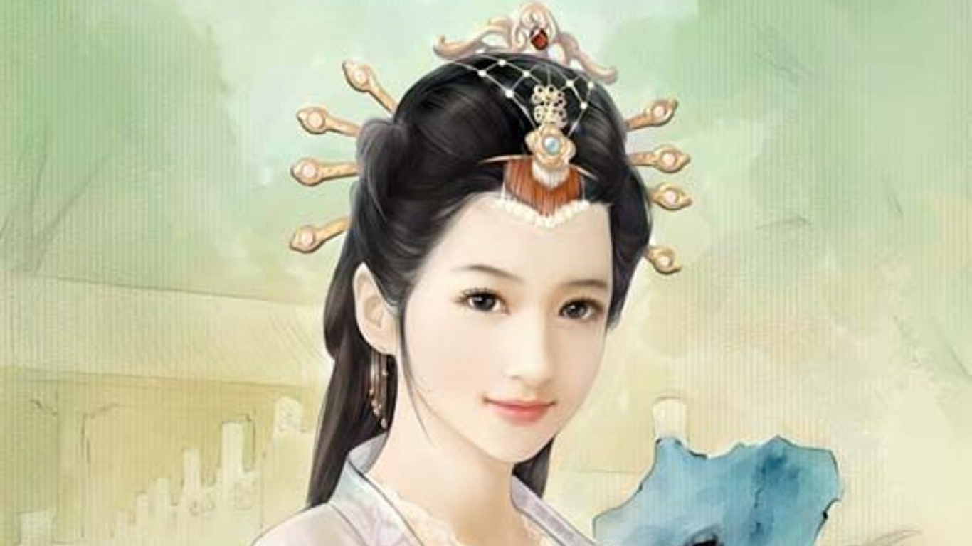 Traditional Chinese Girl Wallpapers Live HD Wallpaper HQ Pictures 1366x768