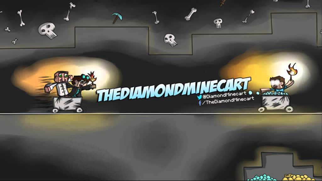 The diamond minecart wallpaper wallpapersafari - Diamond minecart theme song ...