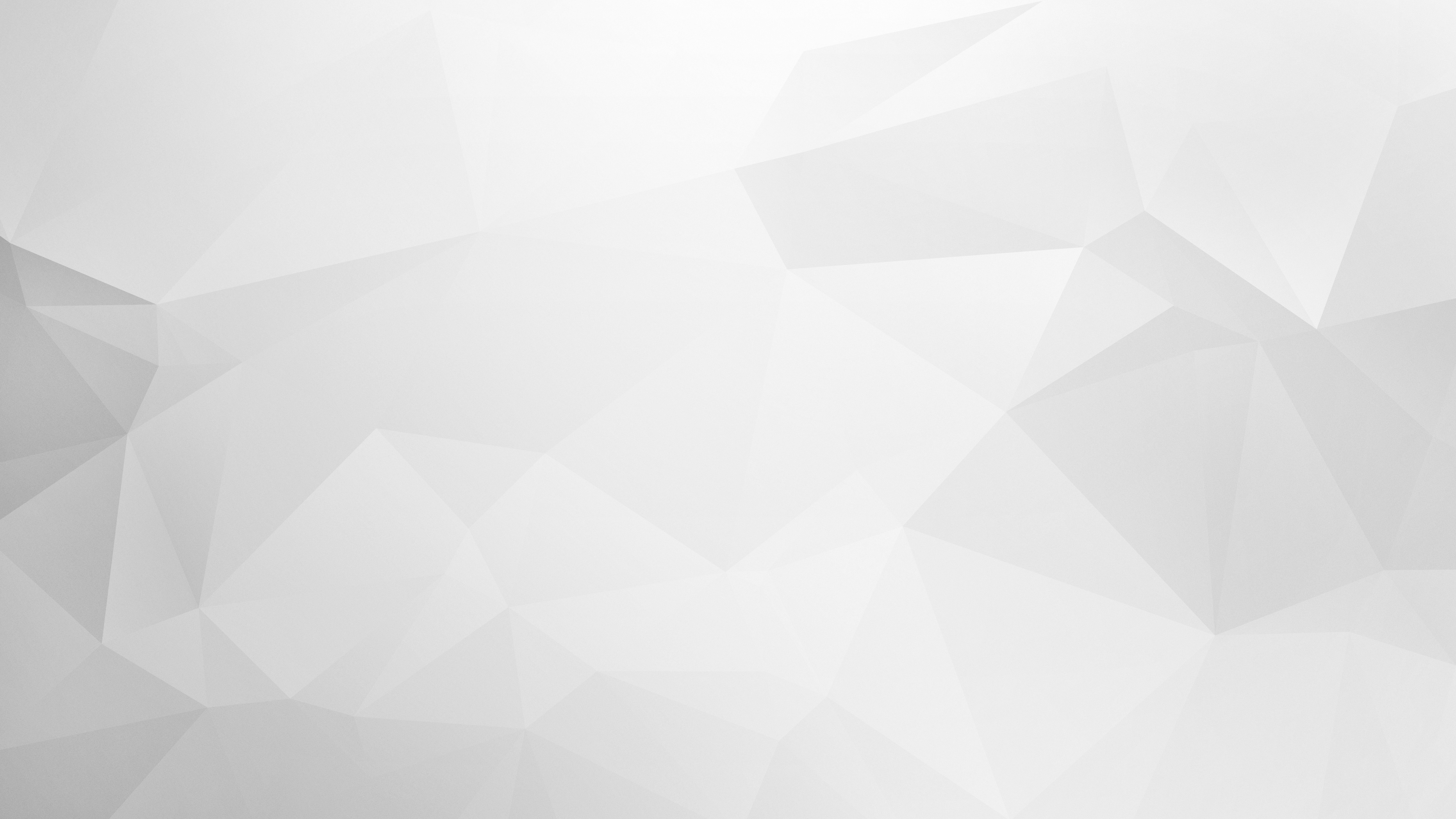clean white polygon backgrounds 8 geeks love bacon 5120x2880