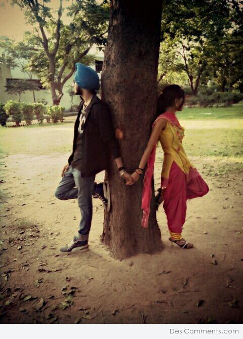 Lovely Punjabi Couple   DesiCommentscom 480x670