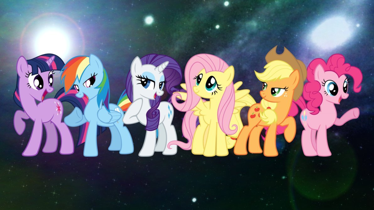 android mane 6 wallpaper - photo #3