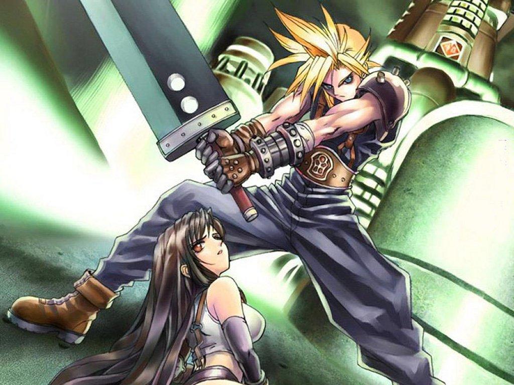 Free Download Final Fantasy Wallpaper 1024x768 Final Fantasy Vii