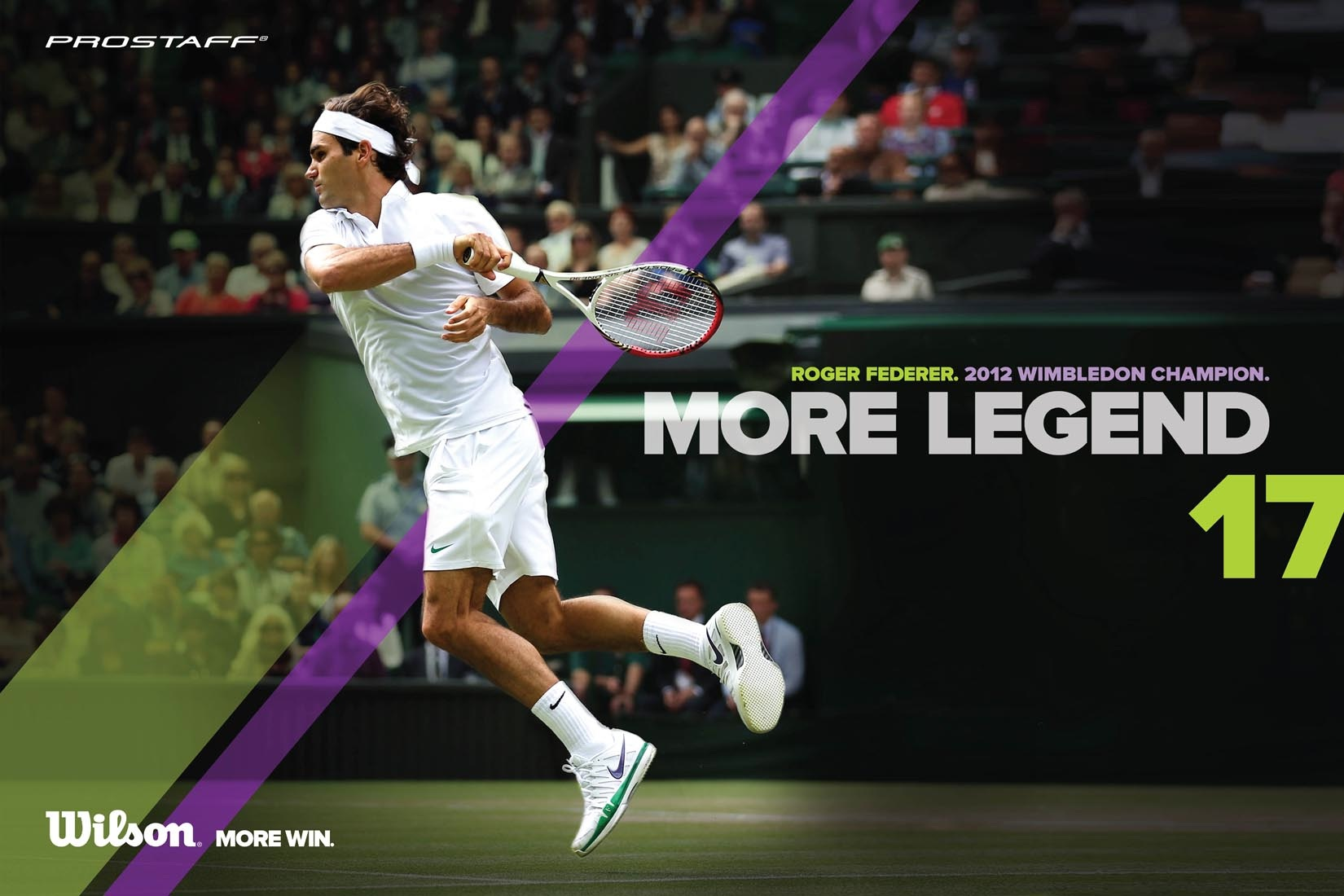 2012 Wimbledon Champion ATP Tour World 1 Roger Federer plays with 1650x1100