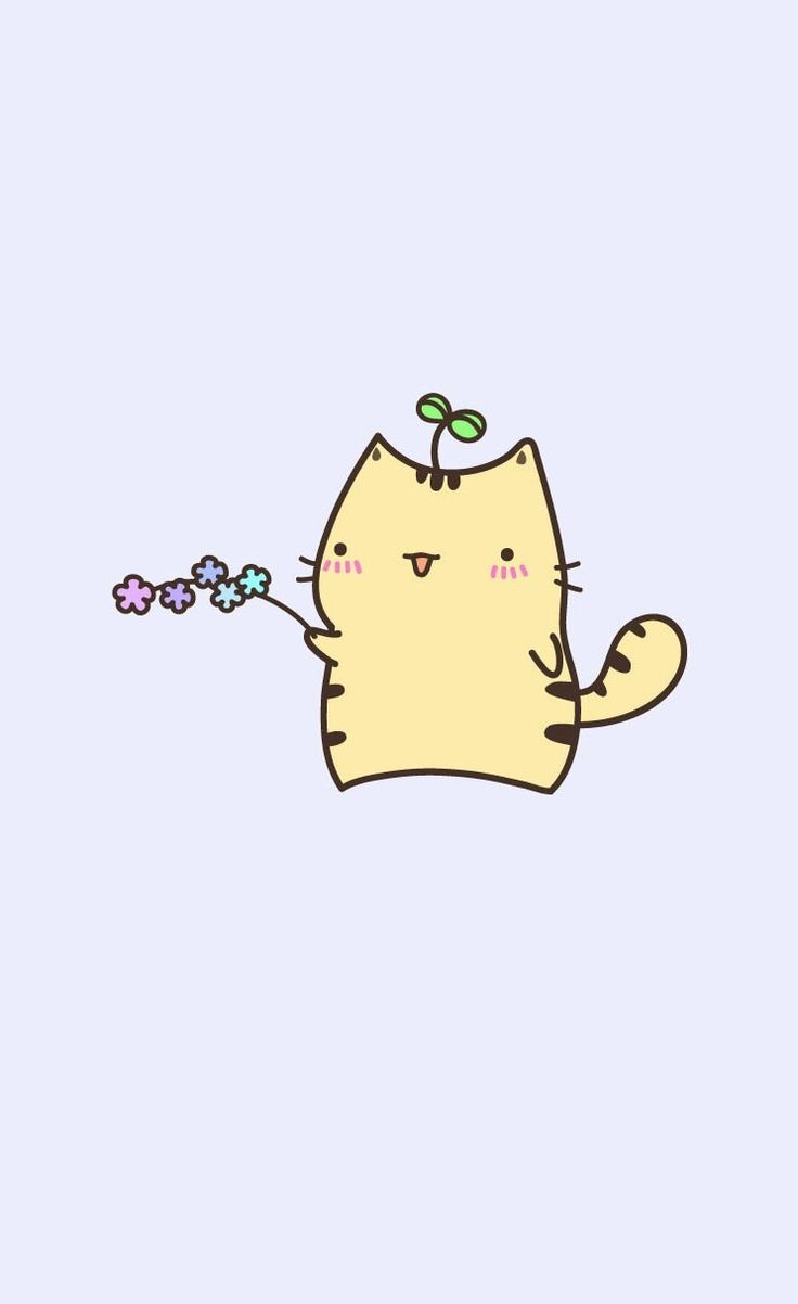 Cute Pusheen kitty   iPhone wallpapers   mobile9 iPhone 6 iPhone 736x1202