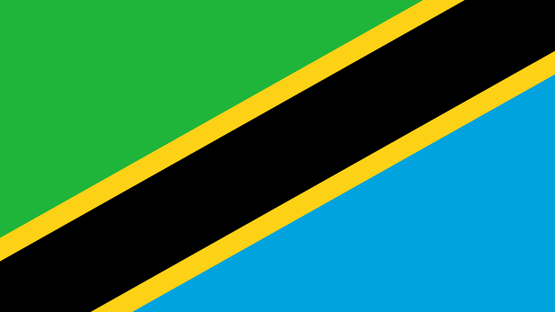 tanzania flag wallpaper Africa OnTheRise 1920x1080