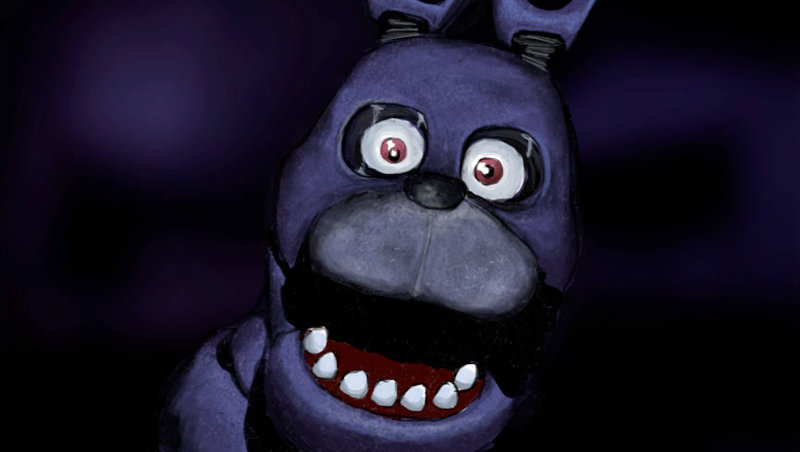 Bonnie Five Nights At Freddys by RapidDisillusion 800x452
