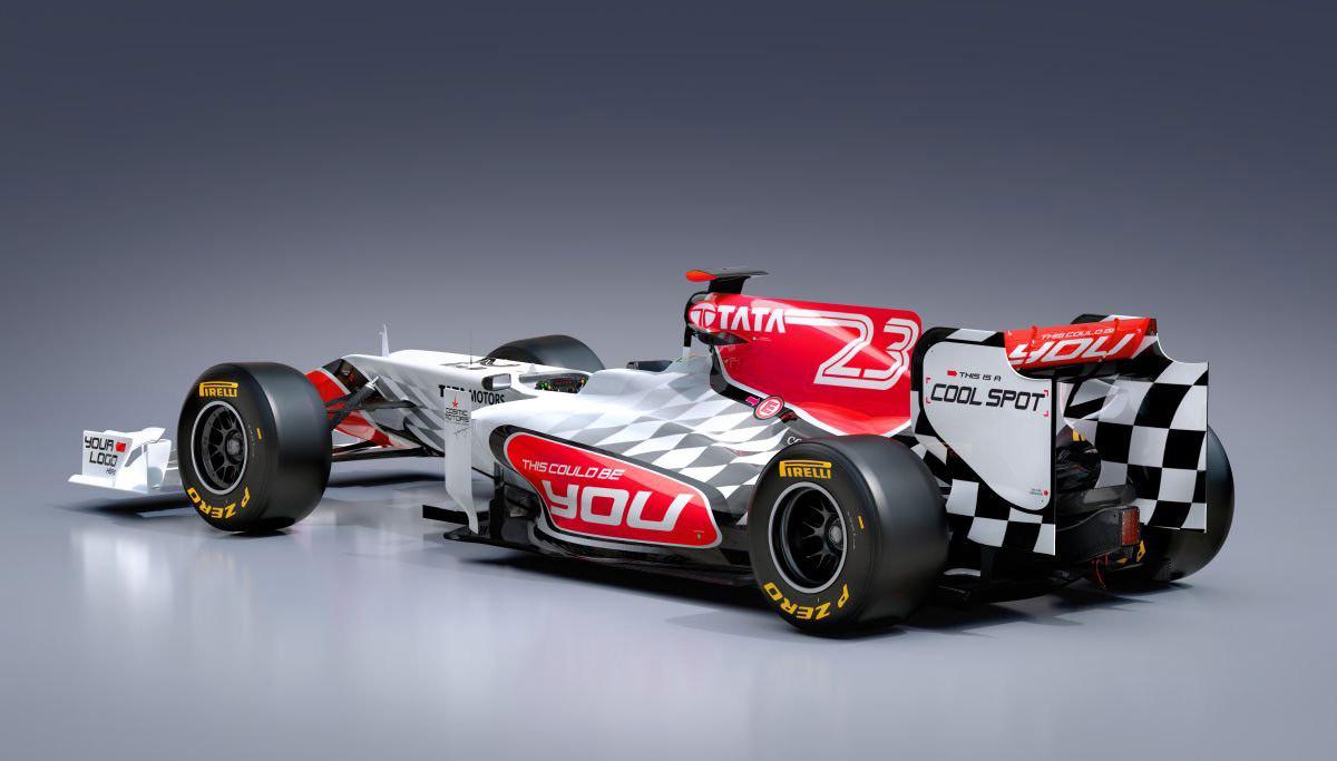 HRT Formula 1 Teams Background