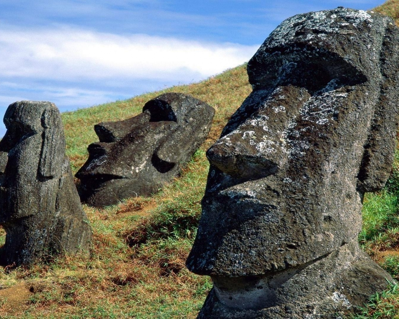 Easter island wallpaper 1280x1024