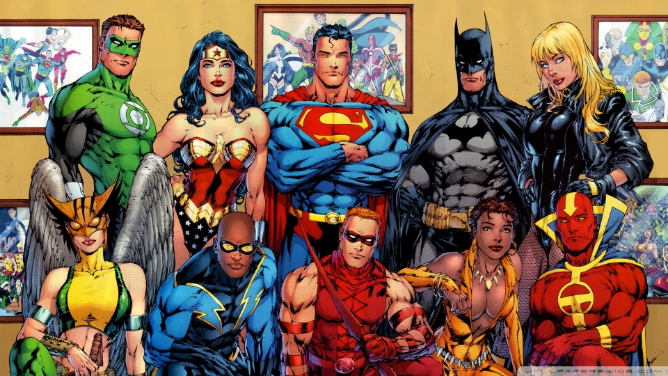 dc comics superheroes wallpaper wallpapers55com   Best Wallpapers 960x540