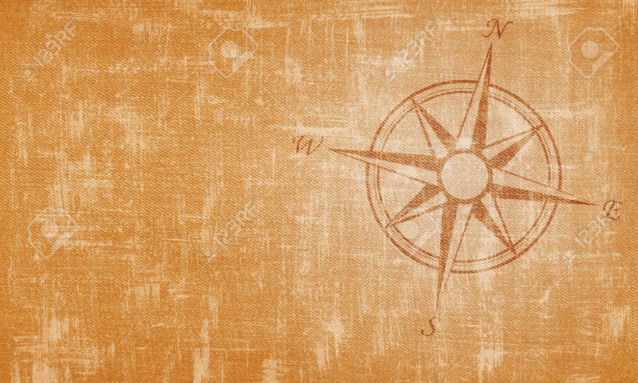 Old Compass On Vintage Background Stock Photo Picture And Royalty 1300x780