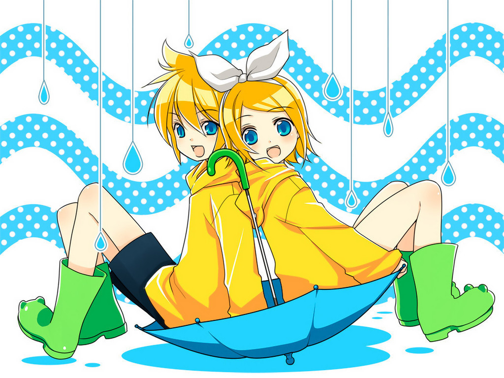 Rin Len Kagamine Vocaloid Wallpaper   Vocaloids Wallpaper 8316774 1024x768